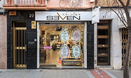 Peluquería Terrassa Seven by Seven